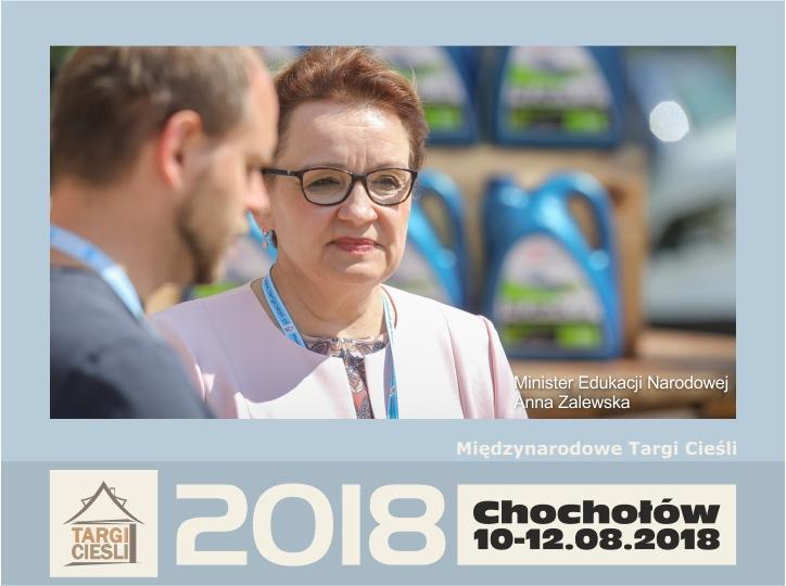 Zdjęcie Minister Edukacji Narodowej Anna Zalewska na Targach Cieśli