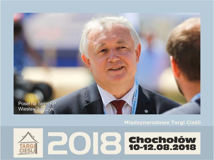 Zdjęcie Minister Wiesław Janczyk - patron honorowy II Edycji Międzynarodowych Targów Cieśli - Chochołów 2018